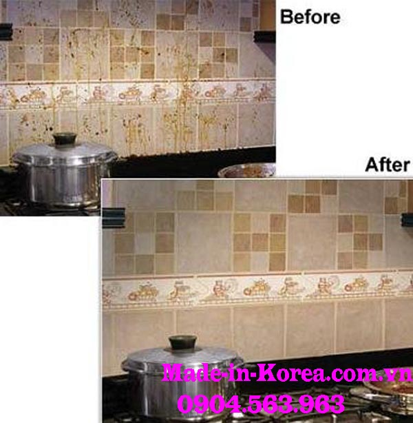 Hóa chất tẩy rửa vệ sinh sàn nhà bếp Korea