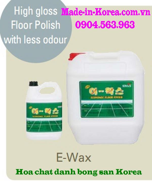 Hóa chất đánh bóng sàn Korea EWAX