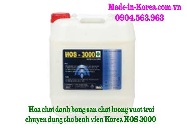 Hóa chất đánh bóng sàn chất lượng vượt trội chuyên dụng cho bệnh viện Korea