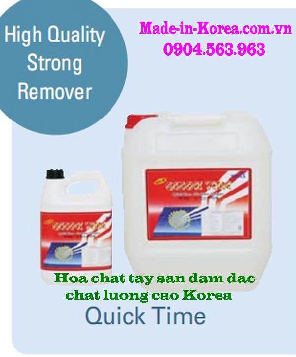 Hóa chất tẩy sàn đậm đặc chất lượng cao Korea Quick Time