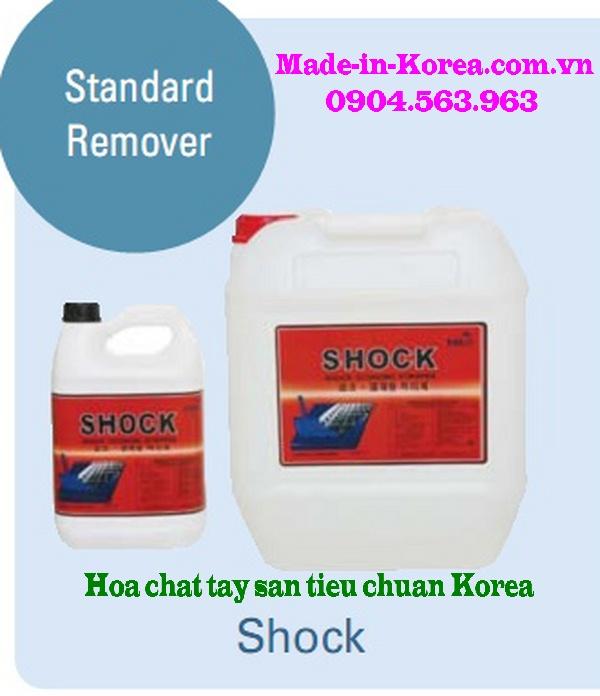 Hóa chất tẩy sàn tiêu chuẩn Korea Shock