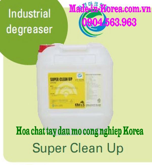 Hóa chất tẩy dầu mỡ công nghiệp Korea Super Clean Up
