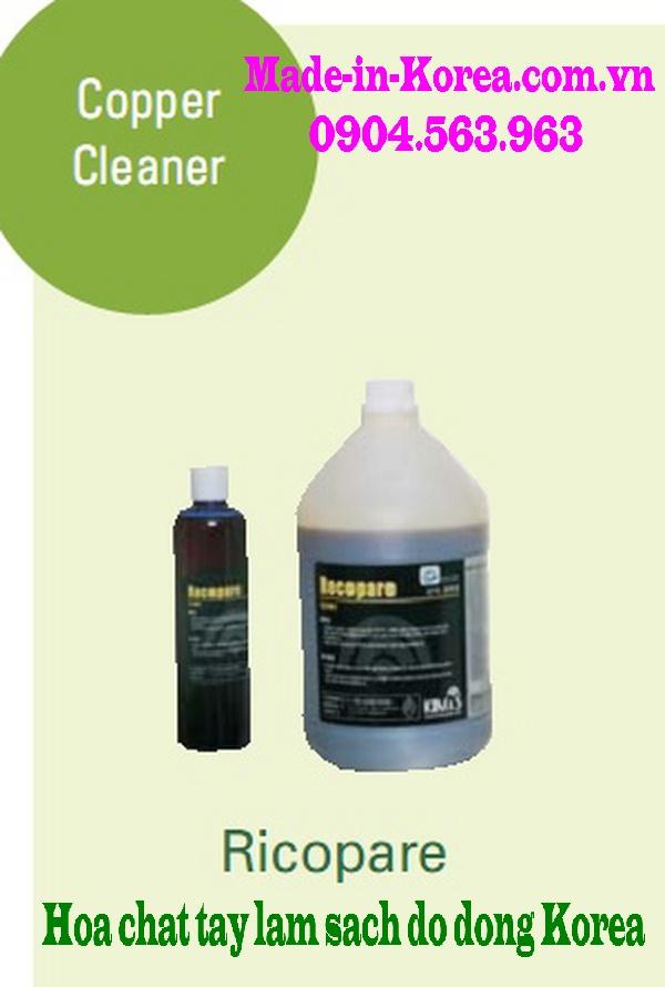 Hóa chất tẩy làm sạch đồ đồng Korea Ricopare