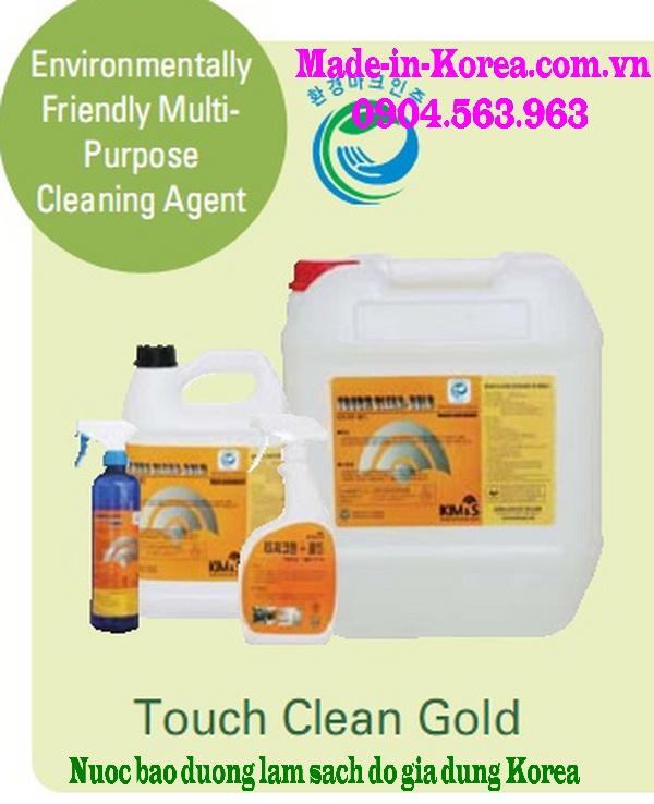 Hóa chẩ bảo dưỡng làm sạch đồ gia dụng Korea Touch Clean Gold