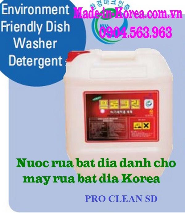 Nước rửa bát đĩa dành cho máy rửa bát đĩa Korea Pro Clean SD