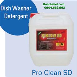 Nước rửa bát đĩa cao cấp chuyên dụng cho máy rửa bát công nghiệp Pro Clean SD
