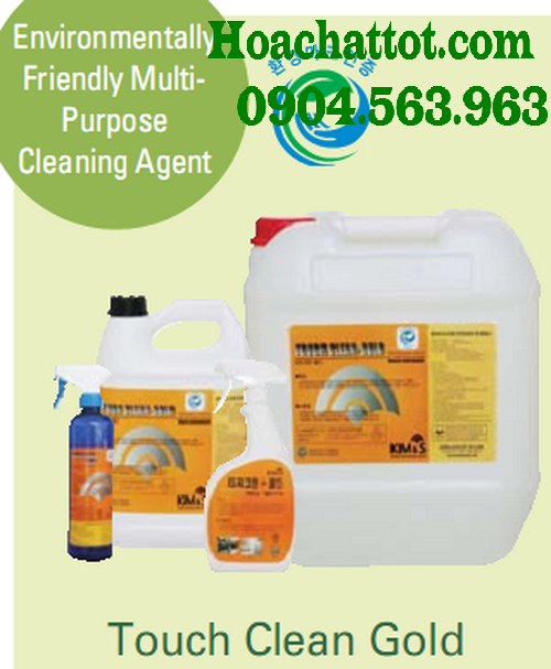Environmentally friendly mutipurpose cleaning agent Touch Clean Gold
