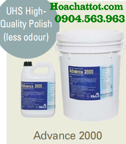 UHS floor polish Advance 2000