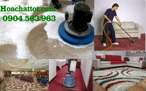 Process of carpet sofa cleaning