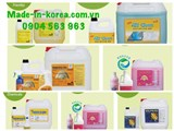 Bộ Hóa Chất Giặt Là Công Nghiệp Cao Cấp Korea